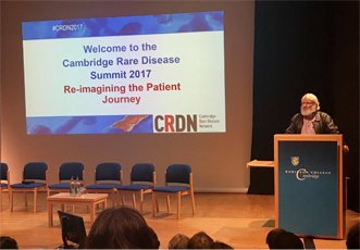 Findacure reflections on CRDN2017 summit. Re-imagining the Patient Journey.