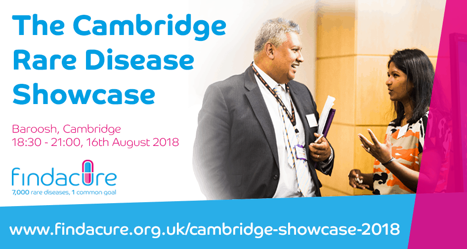Findacure Cambridge Rare Disease Showcase