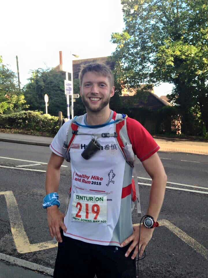 Running the 100 mile North Downs Way for CRDN