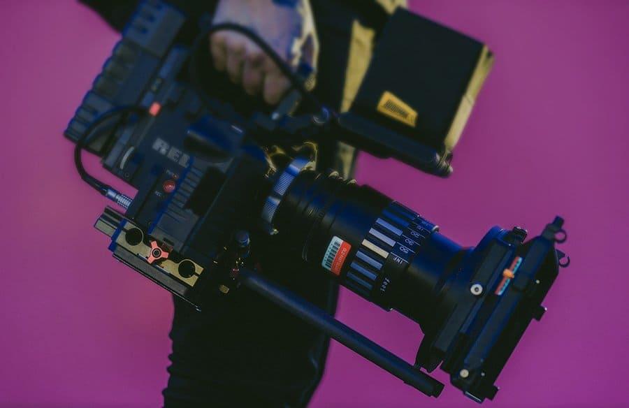 RAREfest20 Photo of a professional film camera