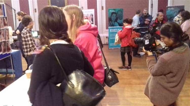 RAREfest 2018 at the Guidlhall: BBC4 camerawoman Ila Mehrotra