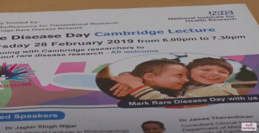 Cambridge-based organisations team up to share knowledge on rare diseases on Rare Disease Day