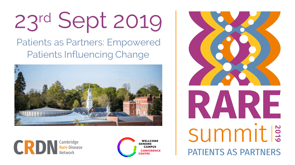 CRDN RAREsummit19: Patients as Partners