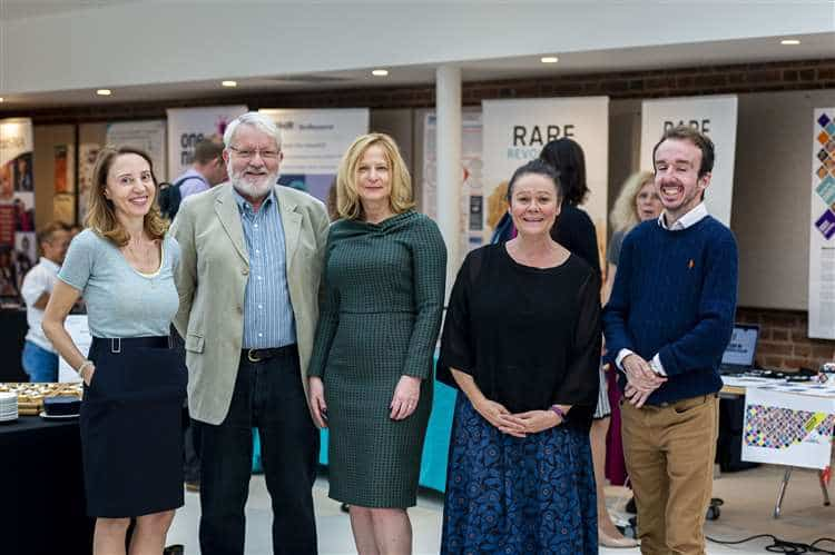From left are Jane Swanson, Alistair Kent OBE, Joanna Segieth, organiser Jo Balfour and David Rose. Picture: Keith Heppell