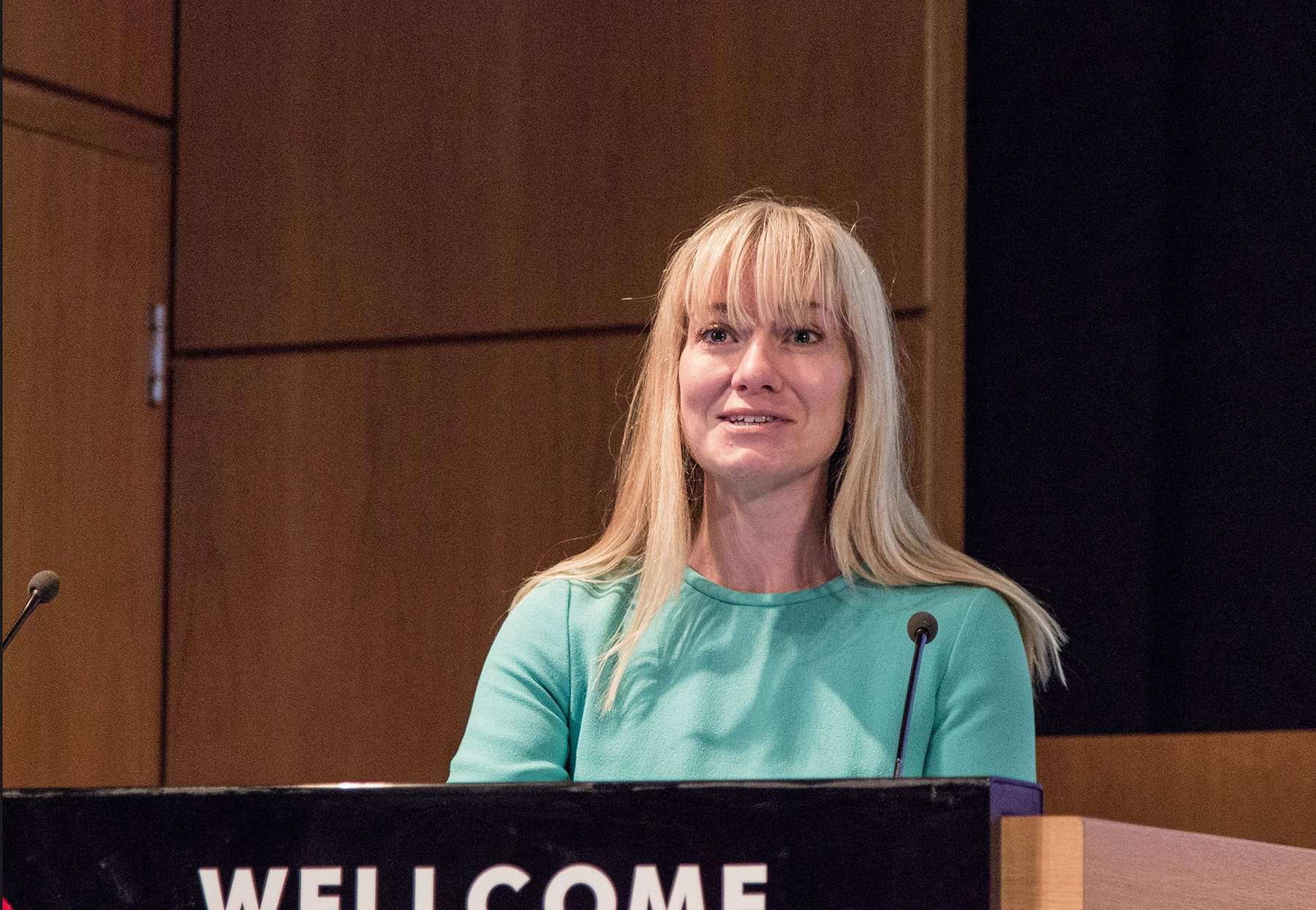 Baronness Nicola Blackwood speaking at RAREsummit19