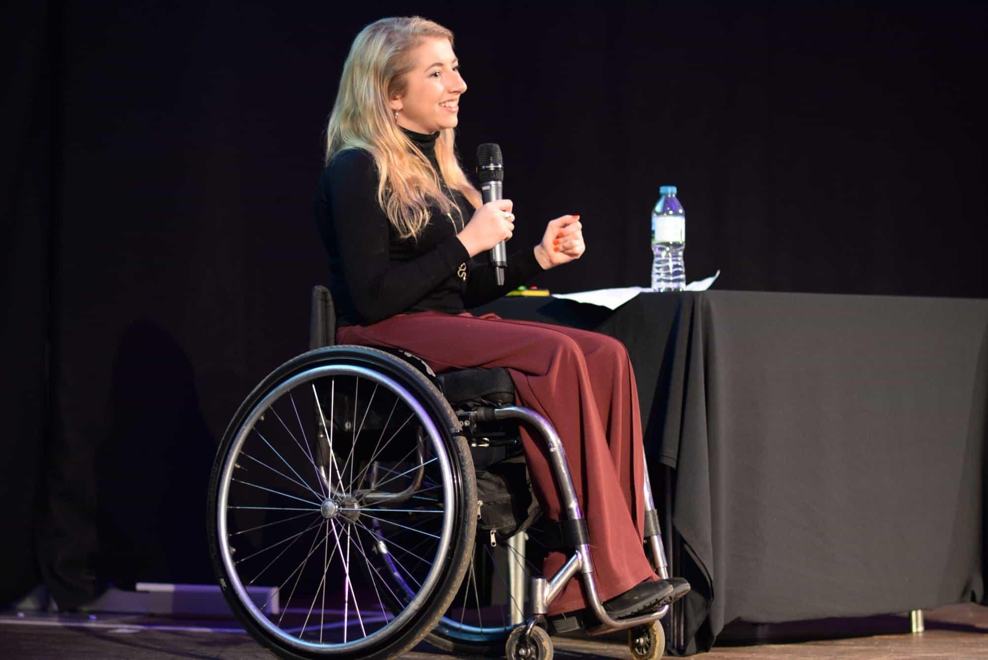Speaker Abbi Brown RAREfest18 Launch Night