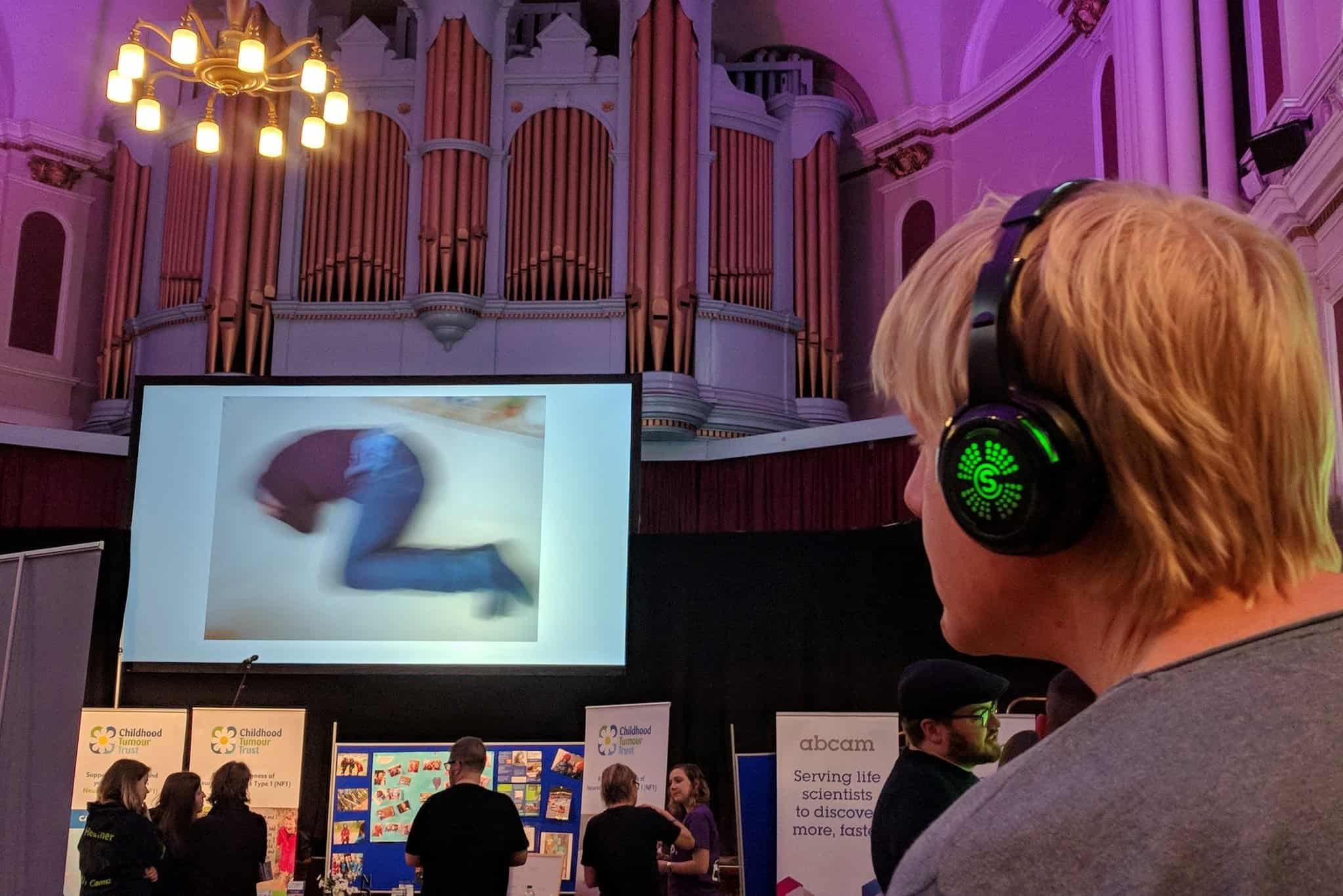 Film fest and accessible tech credit Neale Upstone