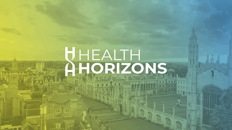 Health Horizons logo Rare Disease panel by Cambridge Rare Disease Network