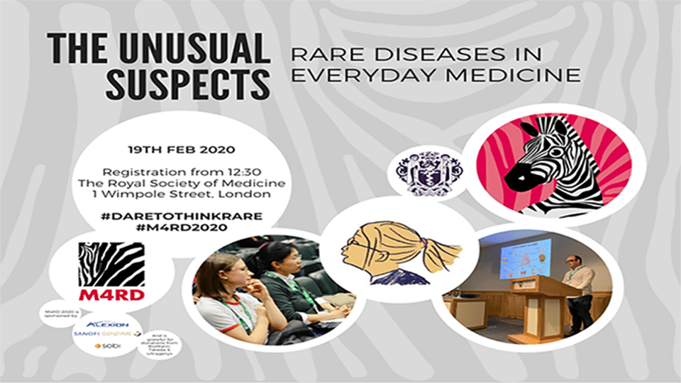 The unusual suspects: Rare diseases in everyday medicine