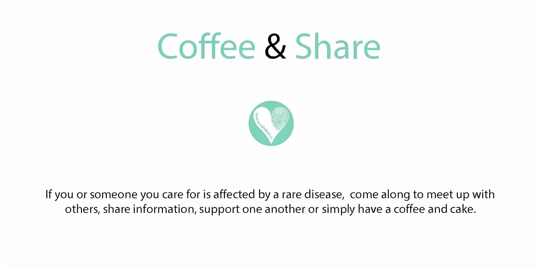 coffee and share Same But Different