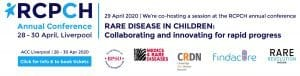 RCPCH Rare Disease Partner Banner