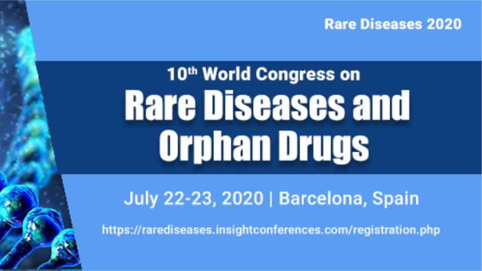 World Congress on  Rare Diseases & Orphan Drugs 2020