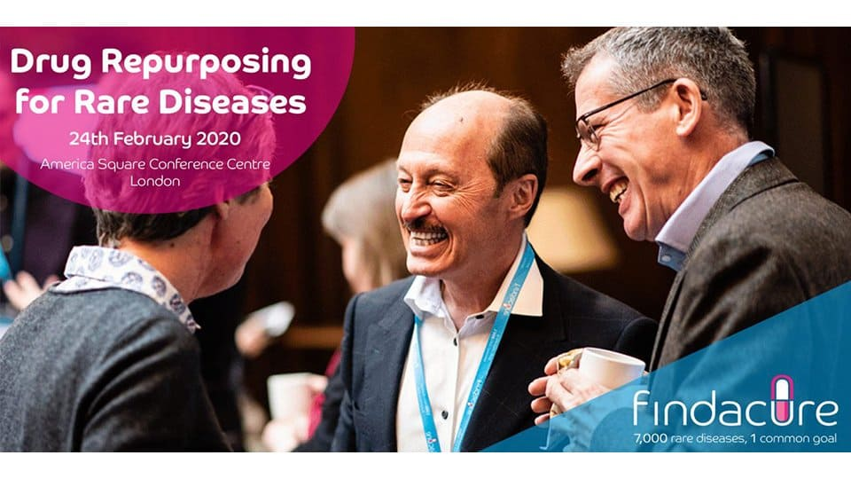 Cambridge Rare Disease Network - Findacure: 'Drug Repurposing for Rare Diseases' conference 2020 1