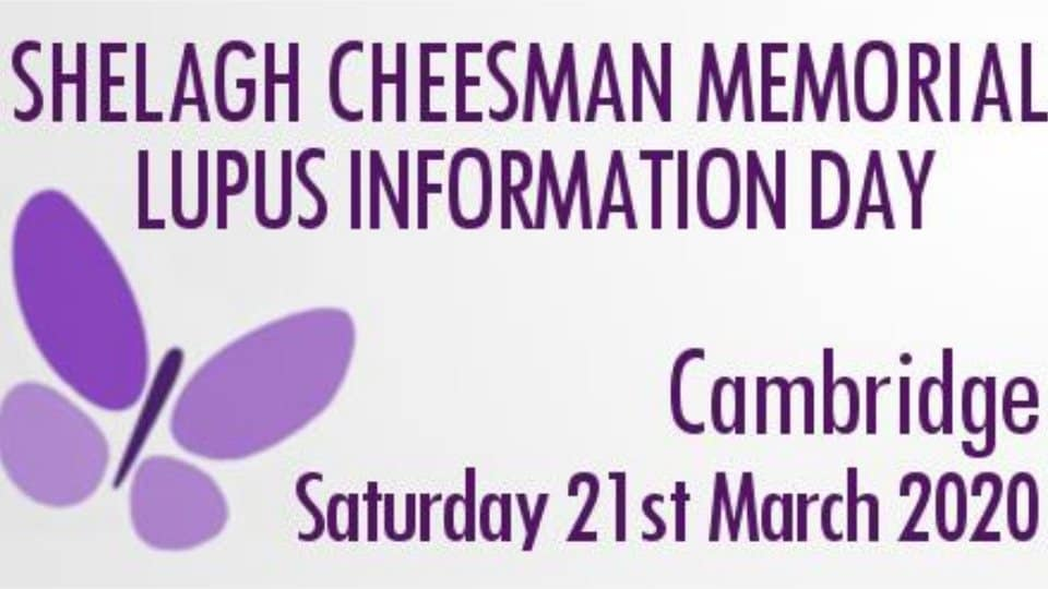 Shelagh Cheeman Memorial Lupus Information Day 2020