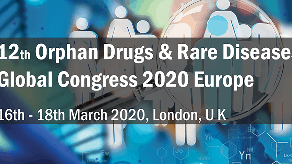 Orphan Drugs & Rare Diseases Europe Global Congress 2020