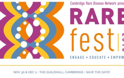 RAREfest18: a 2-day rare disease inspired festival