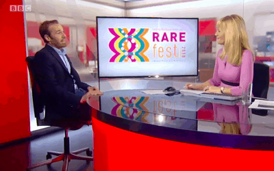 BBC Look East interviews Dr Tim Guilliams on the eve of RAREfest18