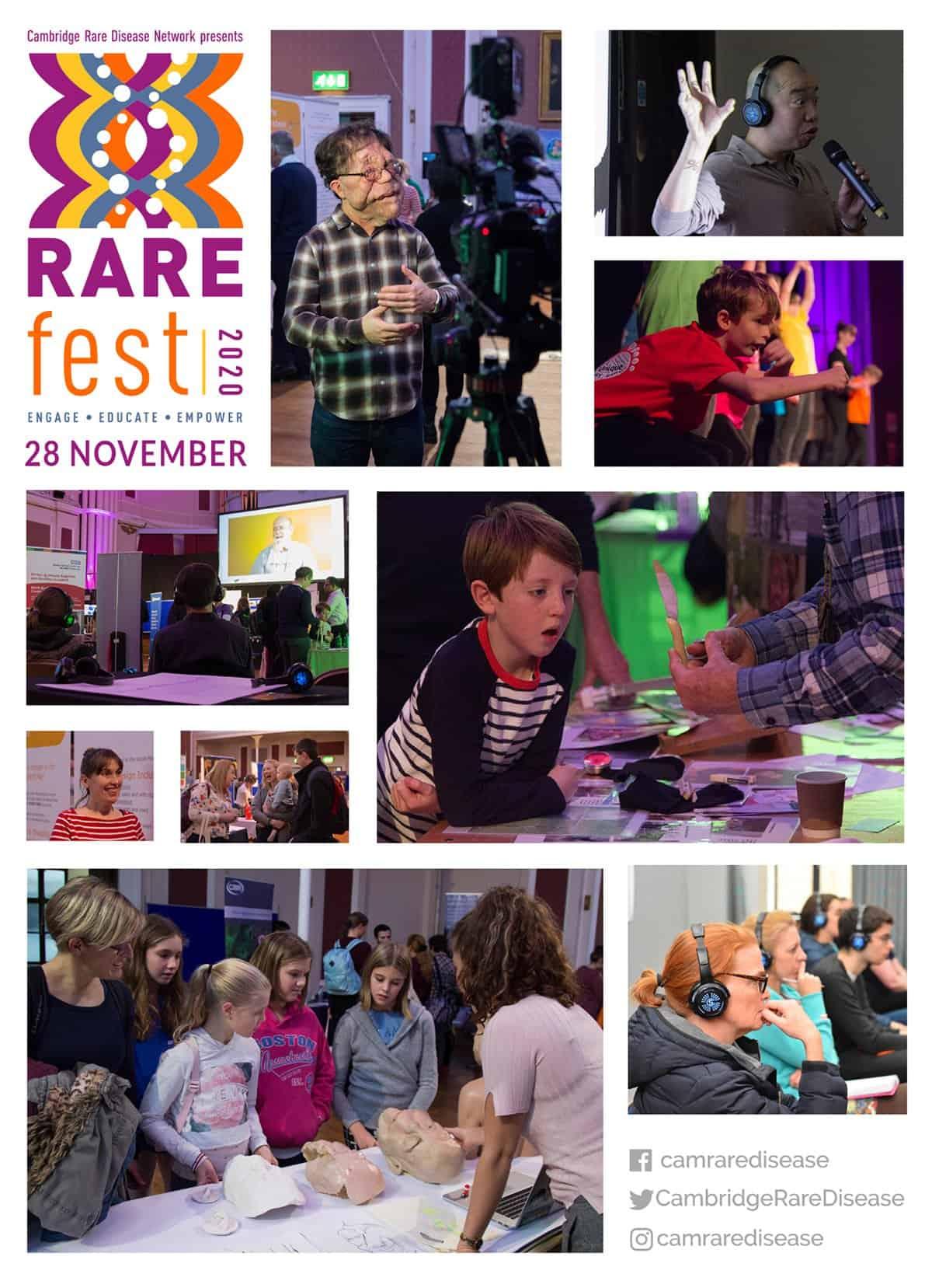 RAREfest2020 promo images