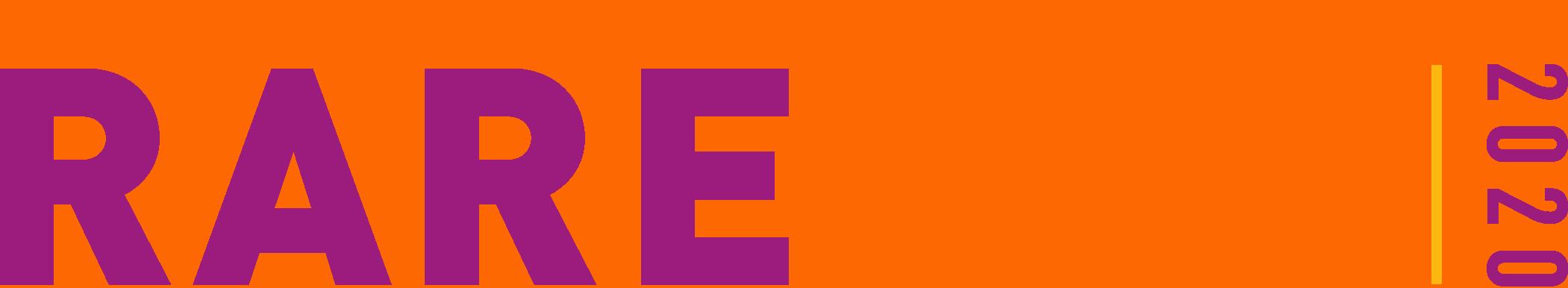 RAREfest 20 basic logo