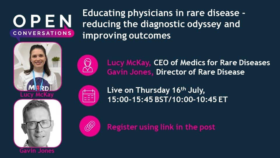 Educating physicians in rare disease – Reducing the diagnostic odyssey and improving outcomes