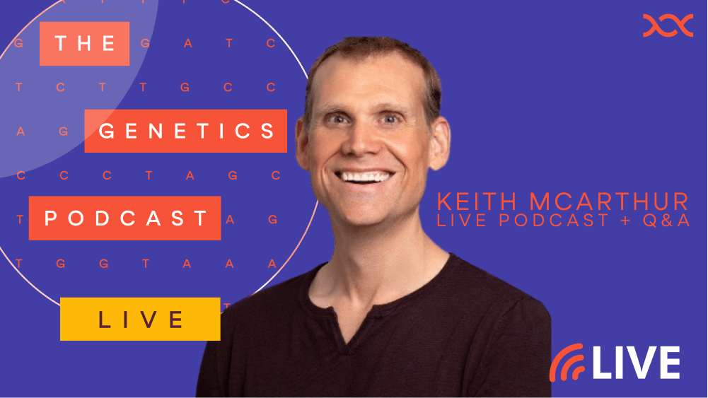Live podcast with Keith McArthur, Rare Disease Champion