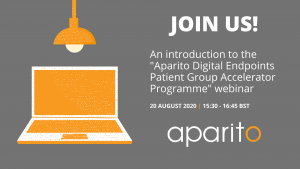 Cambridge Rare Disease Network - Aparito: Digital Endpoints Patient Group Accelerator 20 Aug 1