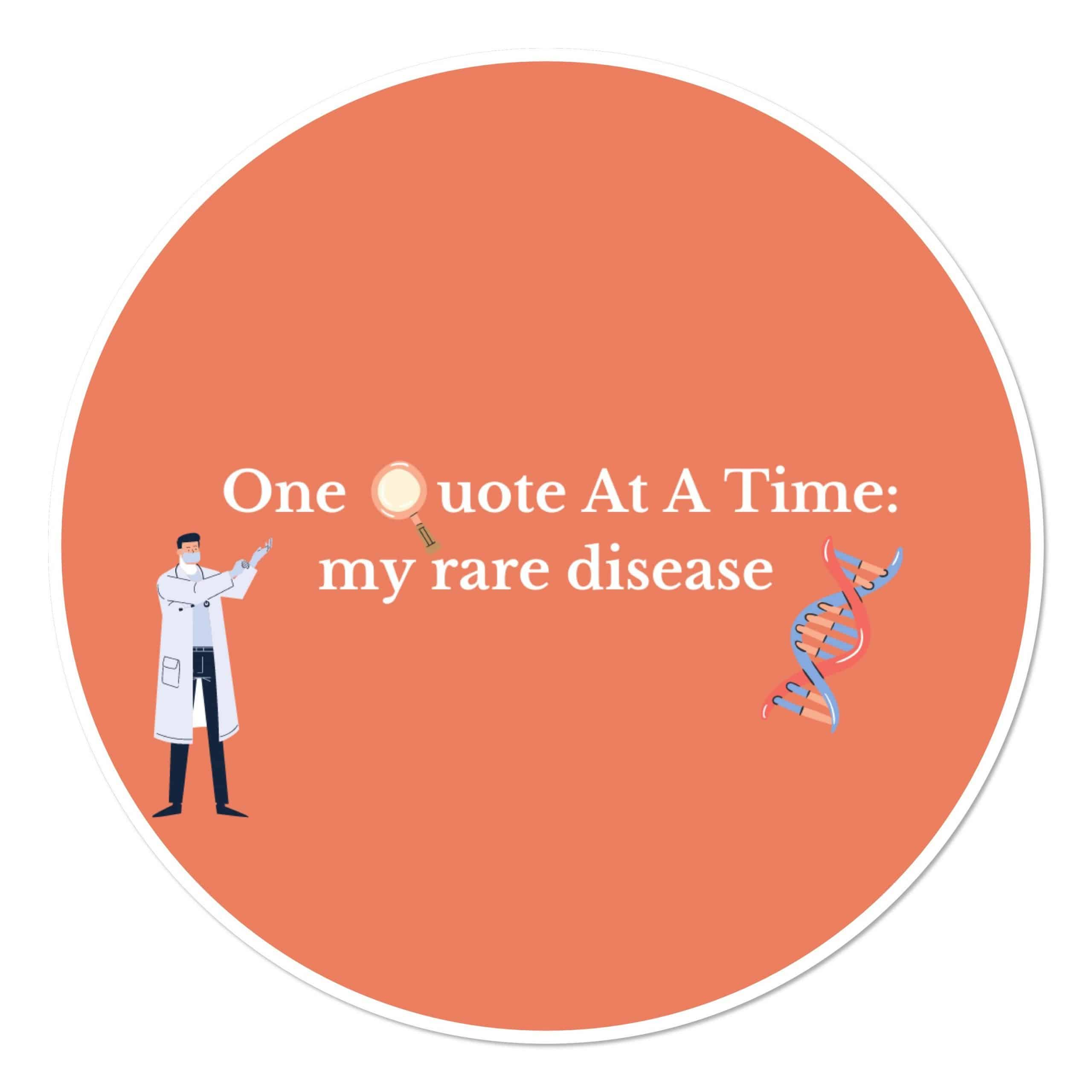 My Rare Disease Podcast logo