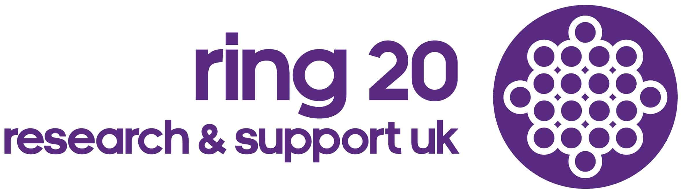 Ring 20 Research & Support UK logo