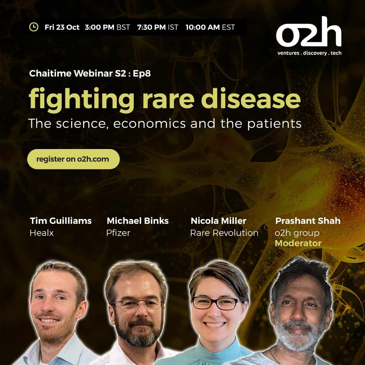 Cambridge Rare Disease Network - Fighting Rare Diseases - The Science, Economics and the Patients. 1