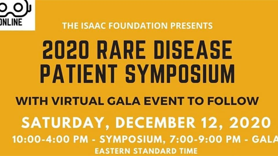 Cambridge Rare Disease Network - 2020 Rare Disease Virtual Patient Symposium 1