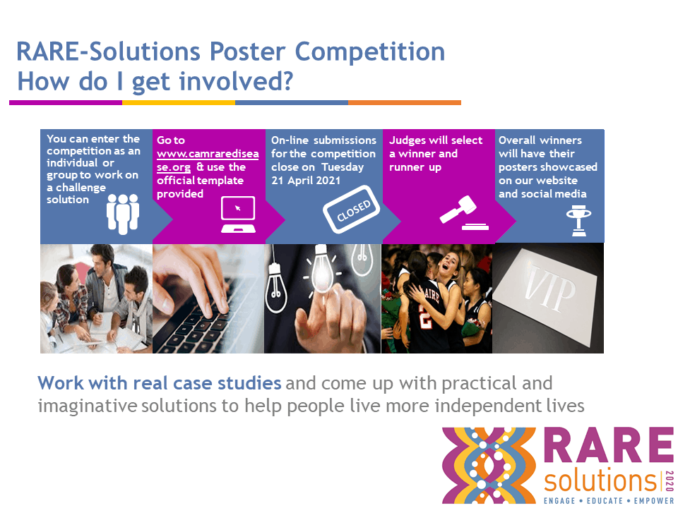 CRDN RareSolutions powepoint presentation for schools 2021