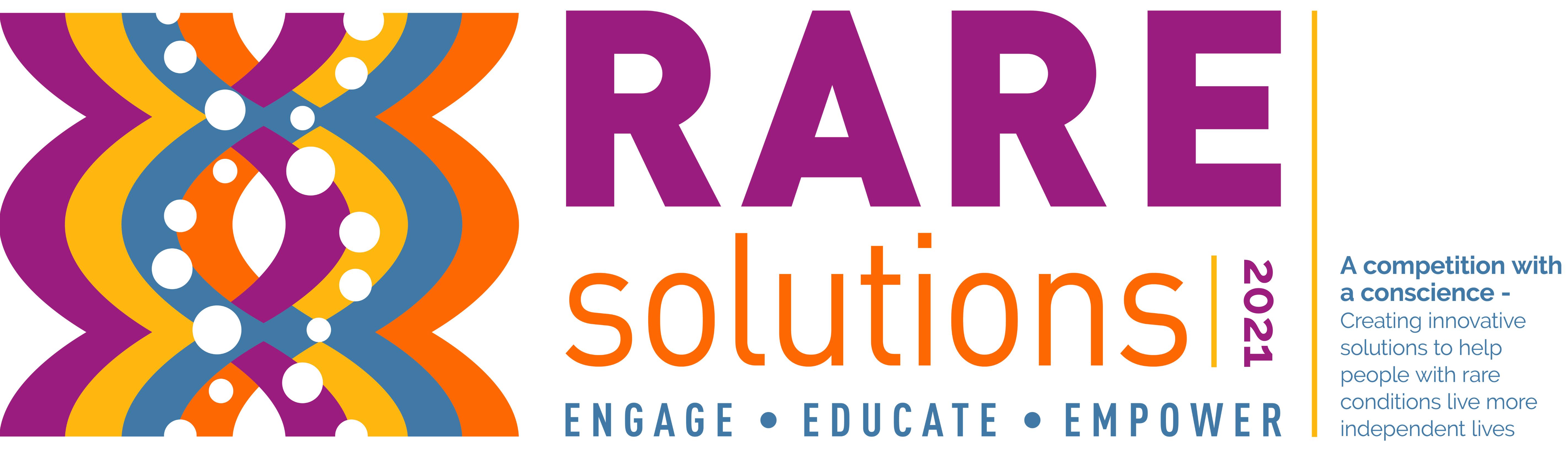 RAREsolutions20 poster design competition logo