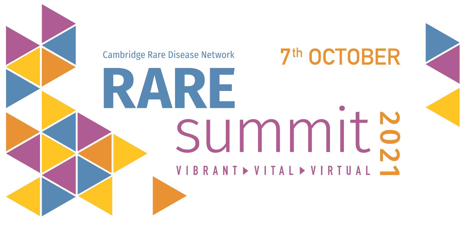 Cambridge Rare Disease Network - RAREsummit21 | Become a media partner 1