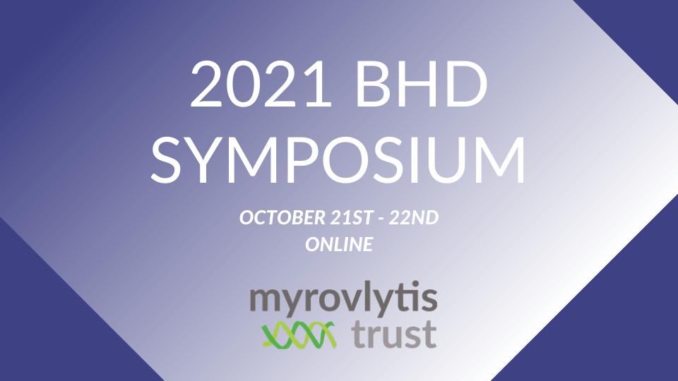 Cambridge Rare Disease Network - BHD Symposium 2021 3