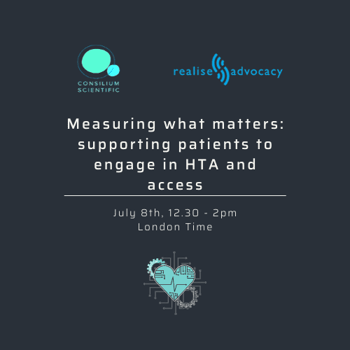 Cambridge Rare Disease Network - Measuring what matters: supporting patients to engage in HTA 1