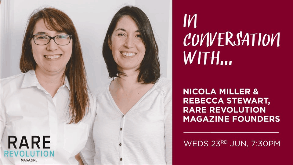 Cambridge Rare Disease Network - In Conversation With - Nicola Miller & Rebecca Stewart 1